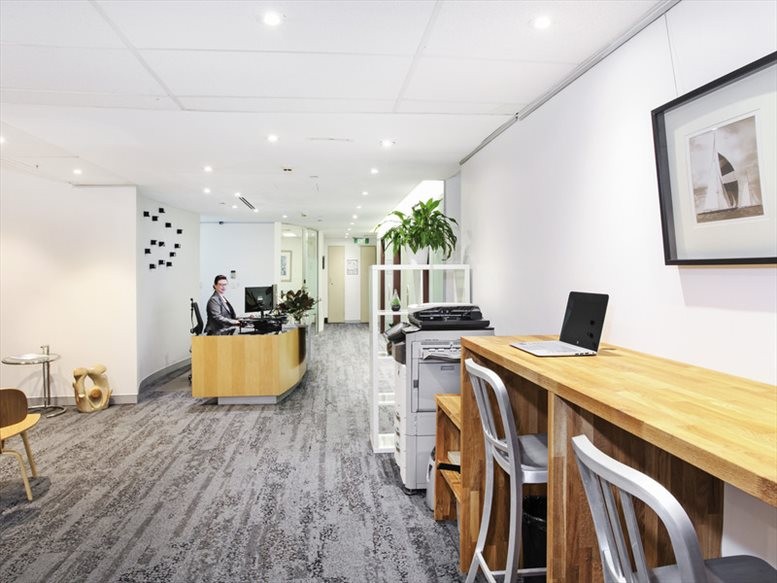 This is a photo of the office space available to rent on Level 12, 37 Bligh St