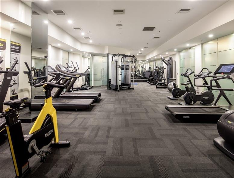 This is a photo of the office space available to rent on St Kilda Rd Towers, 1 Queens Rd
