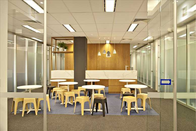 This is a photo of the office space available to rent on Level 8, 350 Collins St