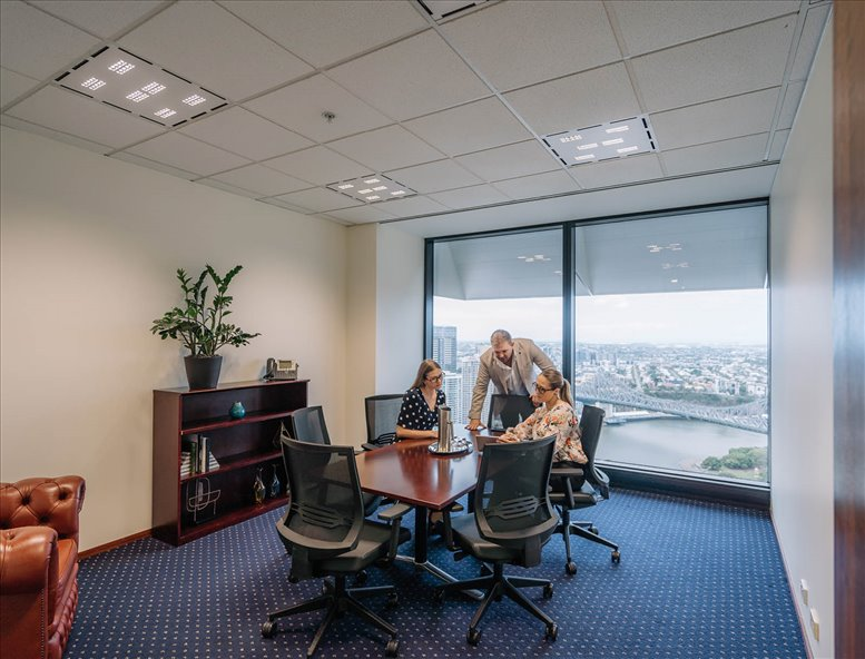 Office for Rent on Riparian Plaza, 71 Eagle Street, Level 36, Golden Triangle Brisbane