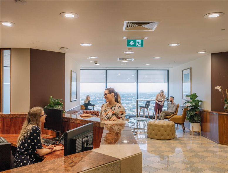 Picture of Riparian Plaza, 71 Eagle Street, Level 36, Golden Triangle Office Space available in Brisbane