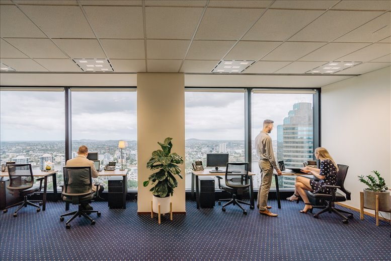 This is a photo of the office space available to rent on Level 36, Riparian Plaza, 71 Eagle Street