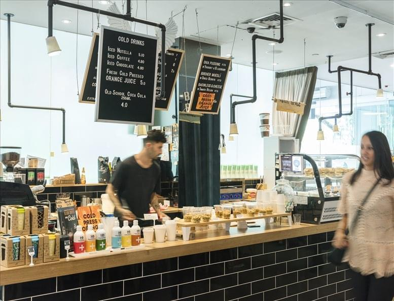 This is a photo of the office space available to rent on Collins Street Tower, 480 Collins St