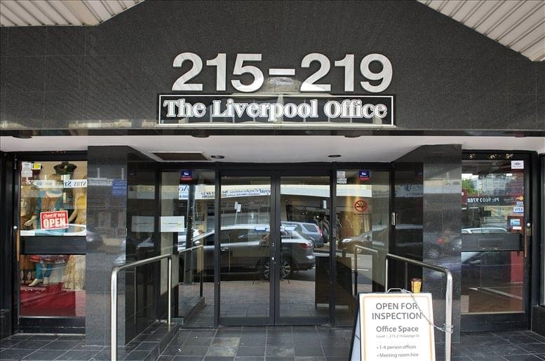 Level 2, 215-219 George St Office Space - Liverpool