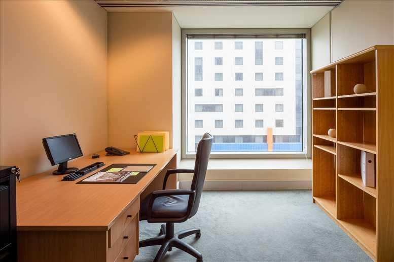 This is a photo of the office space available to rent on IBM Tower, 60 City Road, Southbank