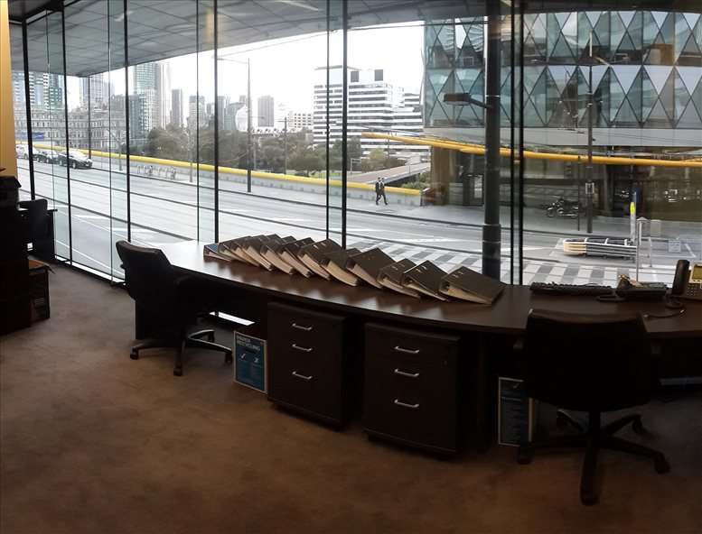 This is a photo of the office space available to rent on 710 Collins St, Docklands