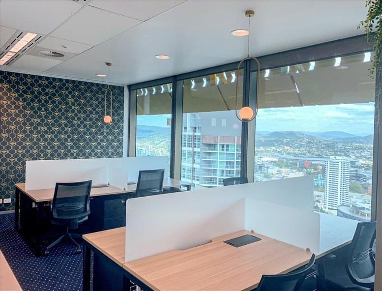 This is a photo of the office space available to rent on Level 27, Santos Place, 32 Turbot St