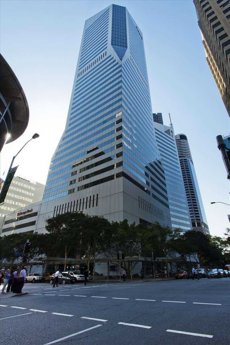 Central Plaza, 345 Queen Street, Level 21, Golden Triangle Office Space - Brisbane