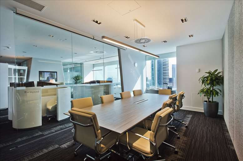Central Plaza, 345 Queen Street, Level 21, Golden Triangle Office for Rent in Brisbane