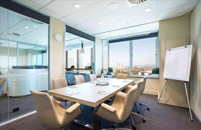 This is a photo of the office space available to rent on Level 13, 50 Cavill Avenue, Surfers Paradise