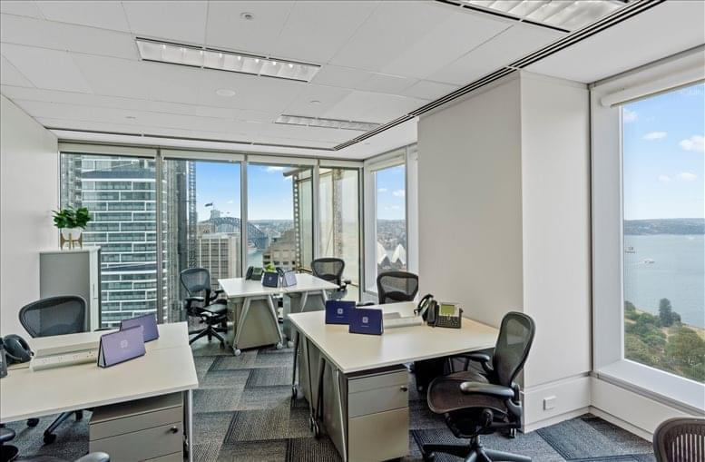 Photo of Office Space available to rent on Aurora Place, Level 25, 88 Phillip St, Sydney