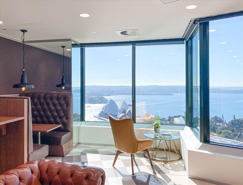 This is a photo of the office space available to rent on Gateway, 1 Macquarie Place, Level 36, Circular Quay