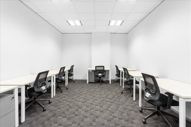 This is a photo of the office space available to rent on Level 14, 380 St Kilda Rd