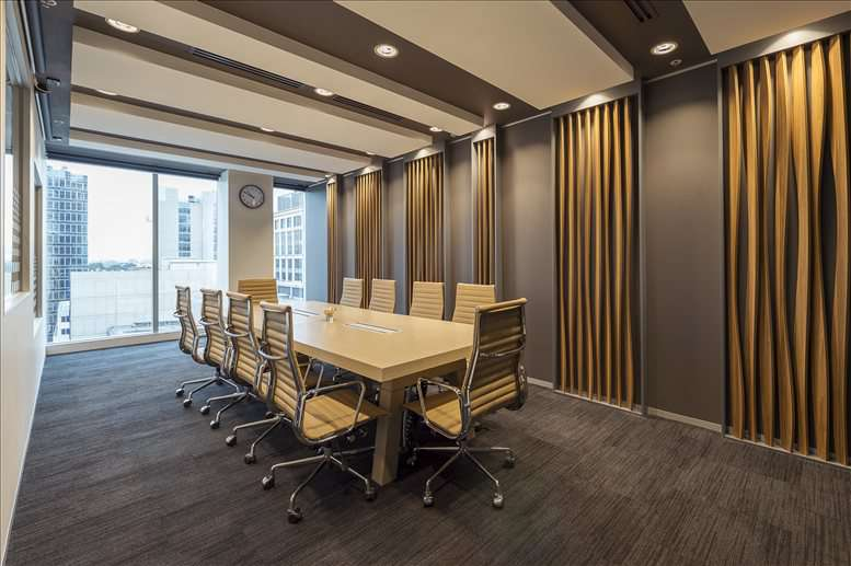 This is a photo of the office space available to rent on 555 Lonsdale Street, Level 10