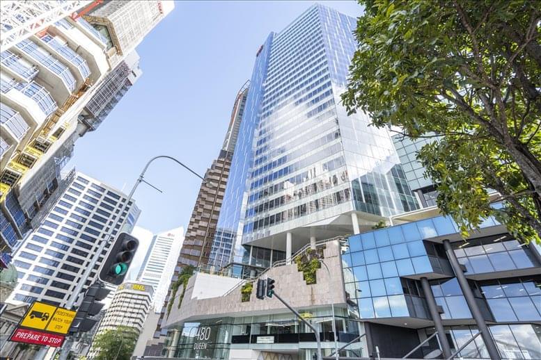 480 Queen St, Level 27 Office Space - Brisbane