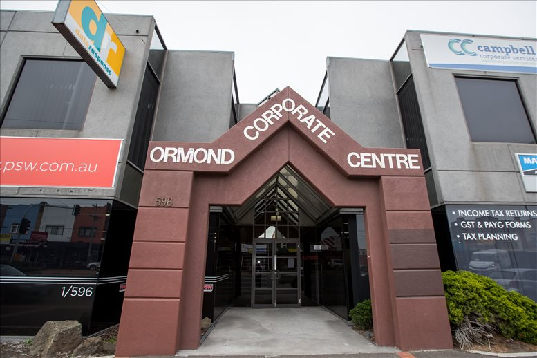 This is a photo of the office space available to rent on Ormond Corporate Centre, 578 - 596 North Rd, Ormond