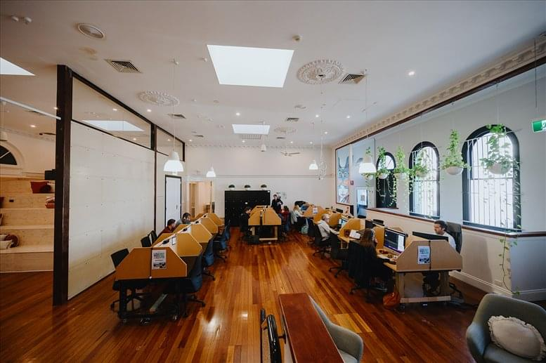 This is a photo of the office space available to rent on 84a Brunswick Street