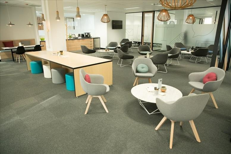 This is a photo of the office space available to rent on 461 Bourke Street, Level 18