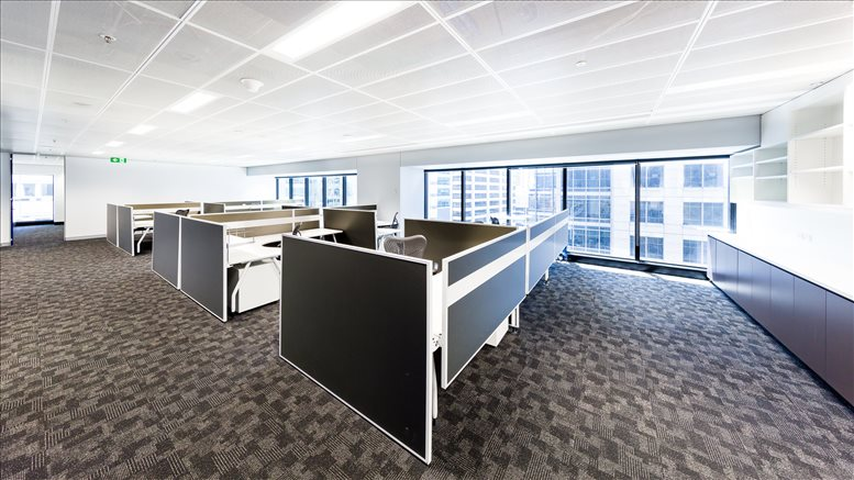 This is a photo of the office space available to rent on Level 14, 77 King St