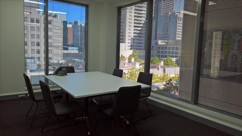 This is a photo of the office space available to rent on Level 6, 250 Queen St