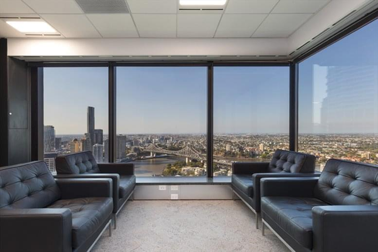 Waterfront Place, 1 Eagle St, Level 34, Golden Triangle Office Space - Brisbane