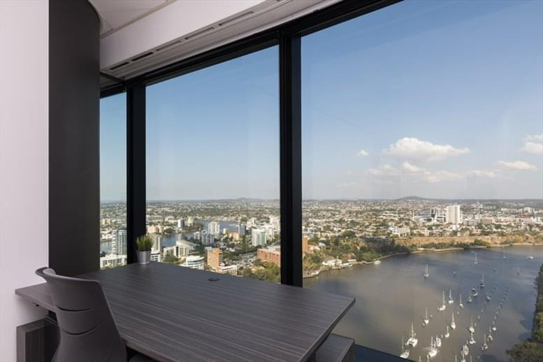 This is a photo of the office space available to rent on Waterfront Place, 1 Eagle St, Level 34, Golden Triangle