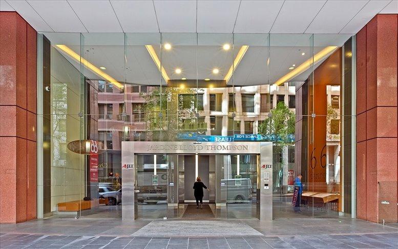 Office for Rent on Jardine Lloyd Thompson House, Level 11, 66 Clarence St Sydney