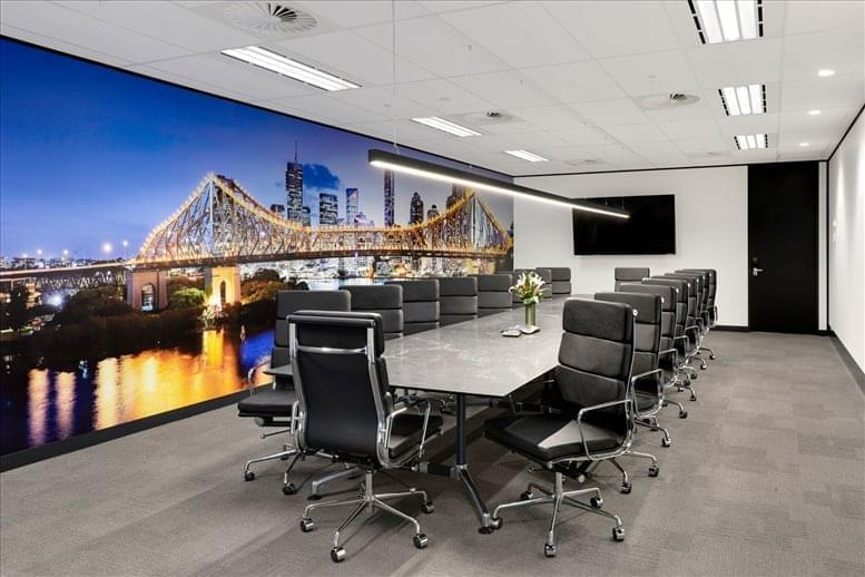 Picture of 175 Eagle St, Level 18, Golden Triangle Office Space available in Brisbane