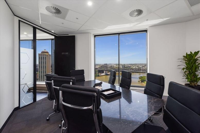 Office for Rent on 175 Eagle St, Level 18, Golden Triangle Brisbane