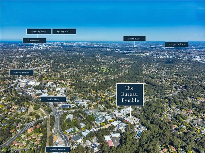 Picture of 14-16 Suakin St, Pymble, Upper North Shore Office Space available in Sydney