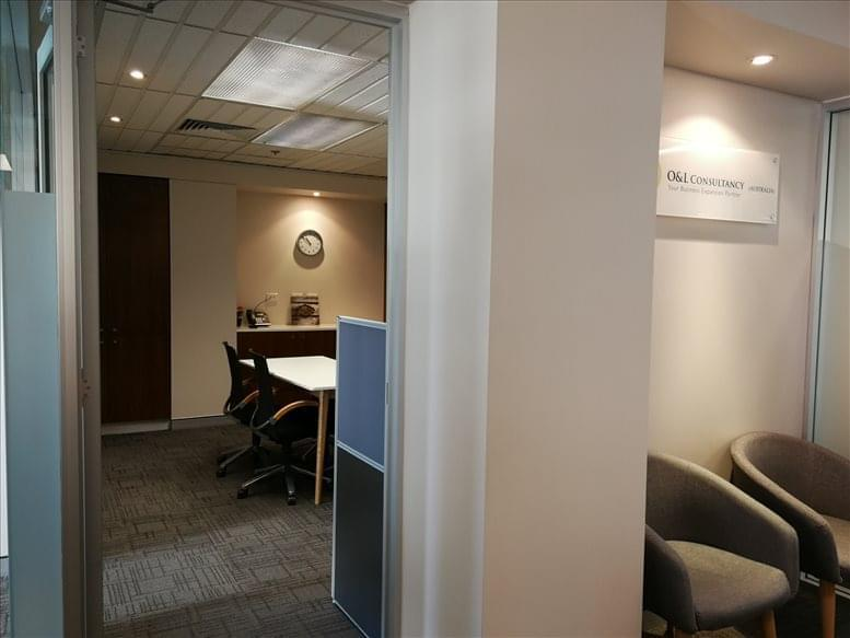 This is a photo of the office space available to rent on Neon House, 10 Hobart Place, Level 6