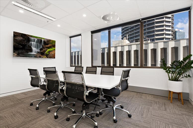 This is a photo of the office space available to rent on Emirates House, 167 Eagle Street, Level 9 & 14, Golden Triangle