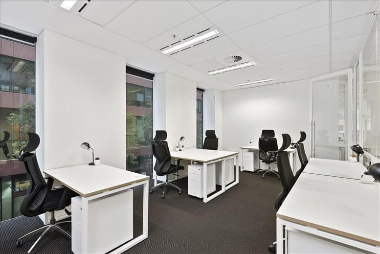This is a photo of the office space available to rent on St James Building, 555 Bourke Street, West End