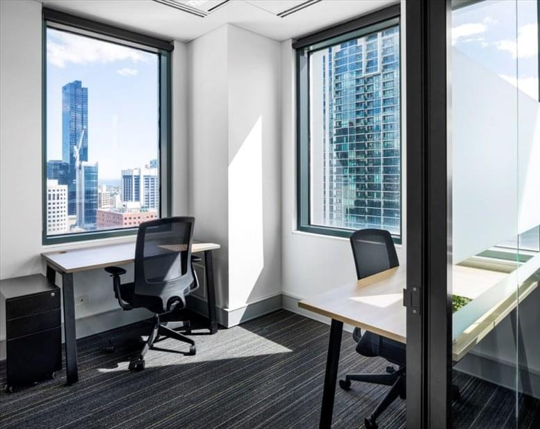 This is a photo of the office space available to rent on 485 La Trobe Street