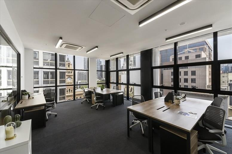 This is a photo of the office space available to rent on 276 Flinders St, Levels 5-9