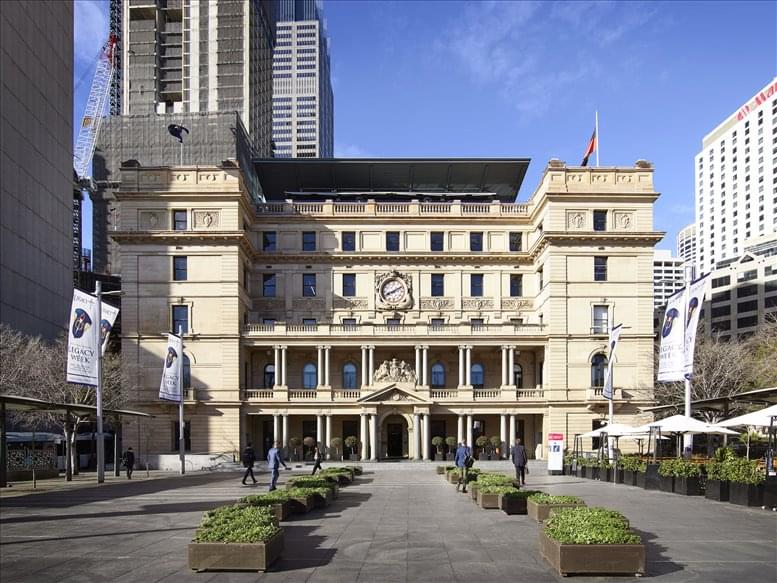 Office for Rent on Customs House, 31 Alfred Street, Circular Quay Sydney