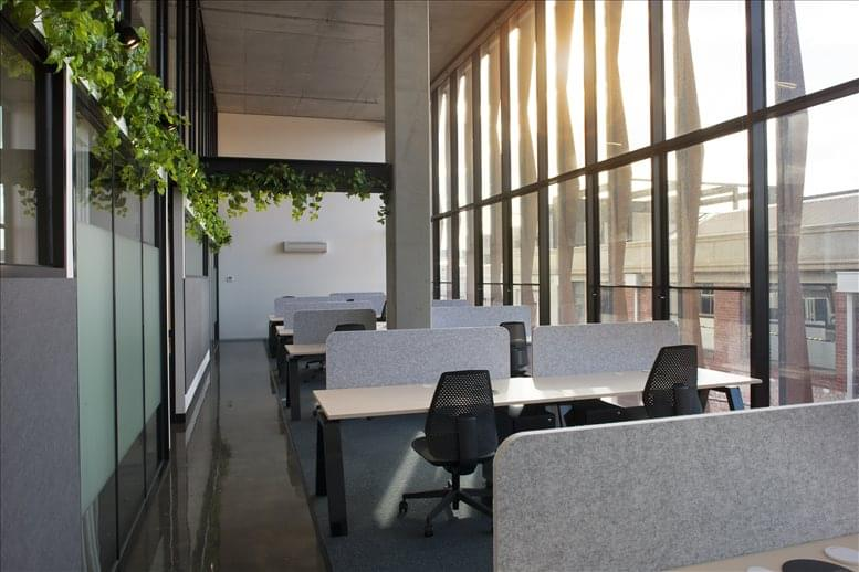 This is a photo of the office space available to rent on 100 Cubitt St, Cremorne