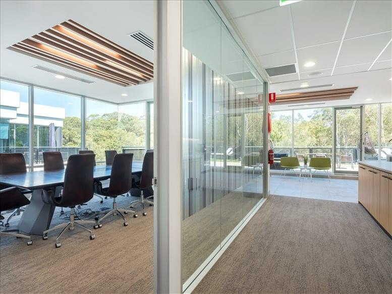 This is a photo of the office space available to rent on Corporate House Pymble, 25 Ryde Road, Pymble