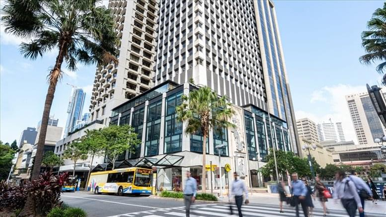This is a photo of the office space available to rent on 260 Queen Street, Golden Triangle, Brisbane CBD