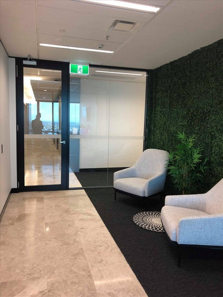 This is a photo of the office space available to rent on AMP Place, 10 Eagle Street, Level 28, Brisbane City