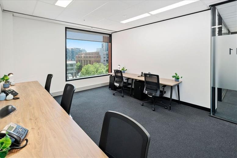 This is a photo of the office space available to rent on 607 Bourke Street