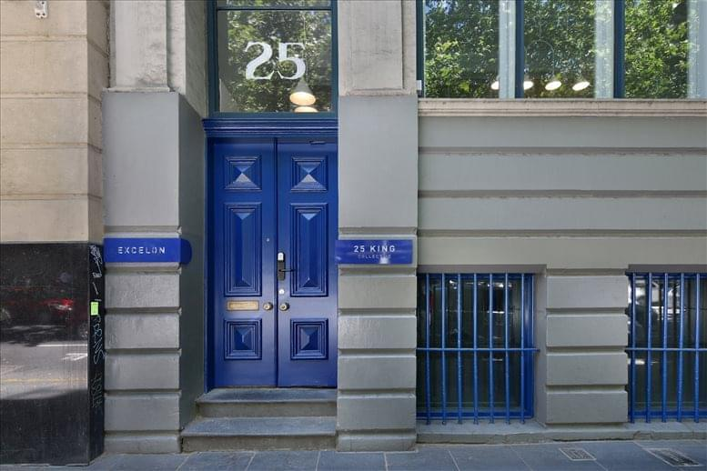 This is a photo of the office space available to rent on 25 King Street, Melbourne CBD
