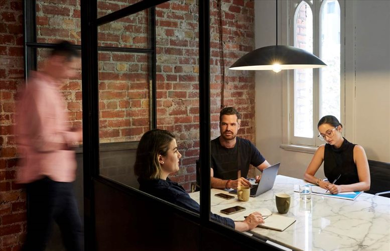 This is a photo of the office space available to rent on Olderfleet Tower, 477 Collins Street