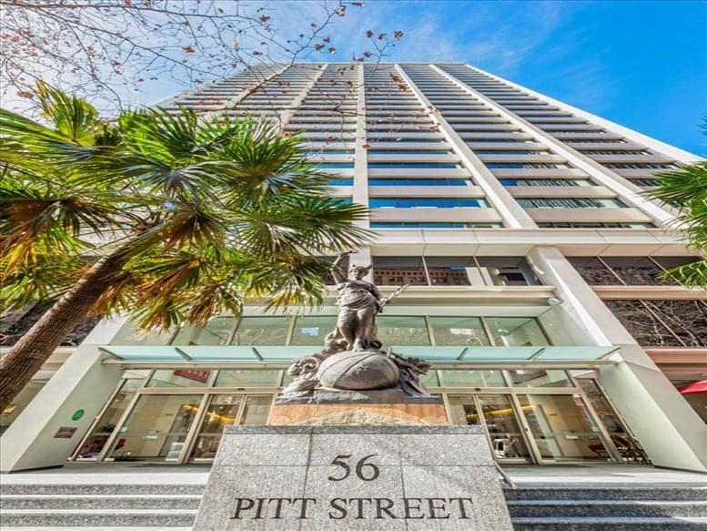 Photo of Office Space on 56 Pitt Street Sydney