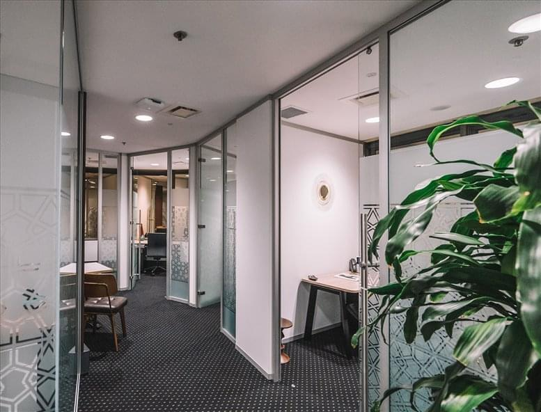 This is a photo of the office space available to rent on Level 19, 10 Eagle St