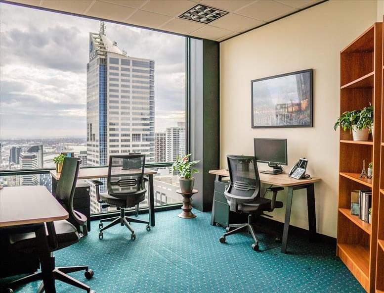 This is a photo of the office space available to rent on One40william, Level 40, 140 William St