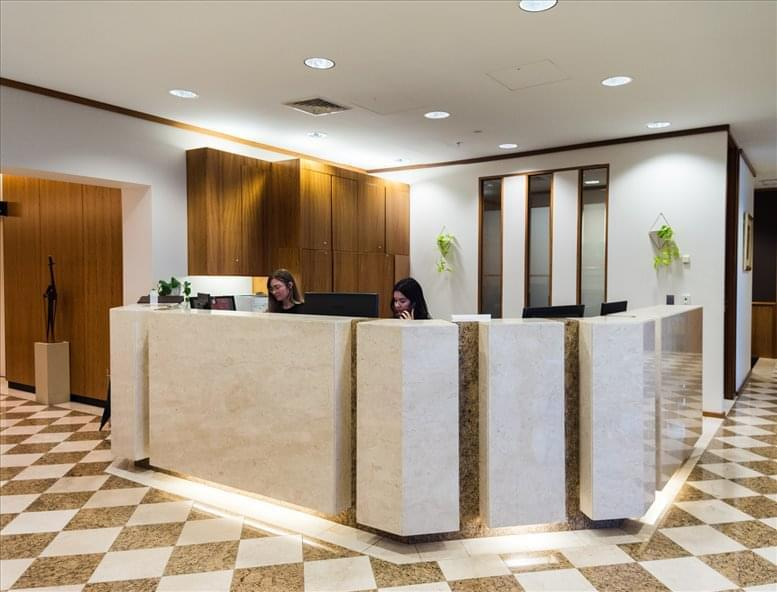 This is a photo of the office space available to rent on AMP Tower, 140 St Georges Terrace, Level 28