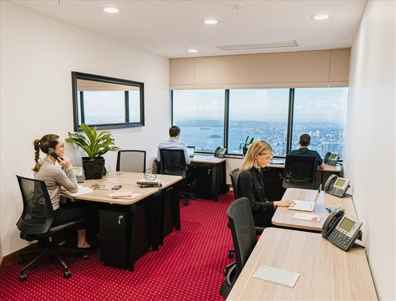 MLC Centre, 19-29 Martin Place, Level 56 & 57 Office Space - Sydney